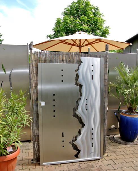 Stainless Steel Gates, Stainless Steel Design, Stainless Steel Garden Gates