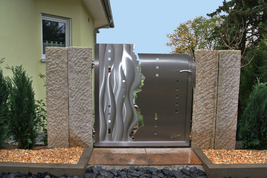 Artistic Gates, Artistic Stainless Steel Gates, Garden Gates, Artistic  Garden Gates, Stainless